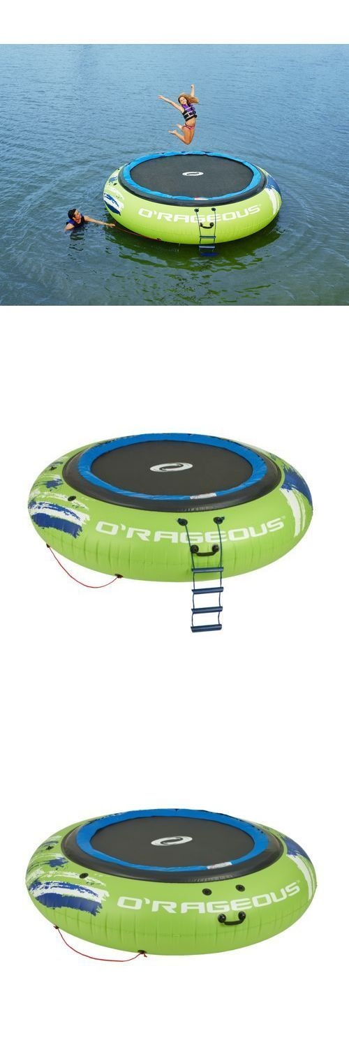 Inflatable Floats and Tubes 79801: Large 13 Round Water Trampoline Inflatable Lake Bouncer Floating Island New! -> BUY IT NOW ONLY: $529.99 on eBay!