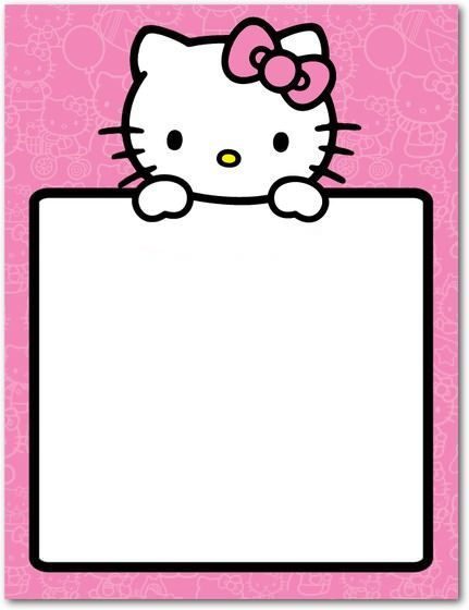 tarjetas-cumpleanos-hello-kitty-grande  - Invitaciones de cumpleaños Hello Kitty