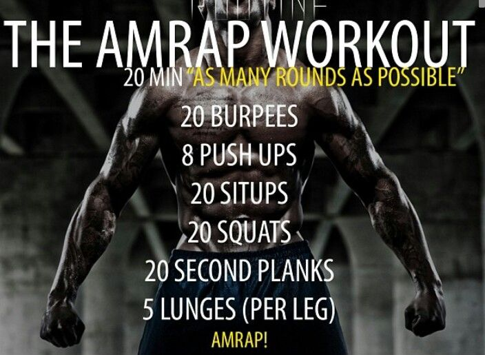 The Amrap Workout.