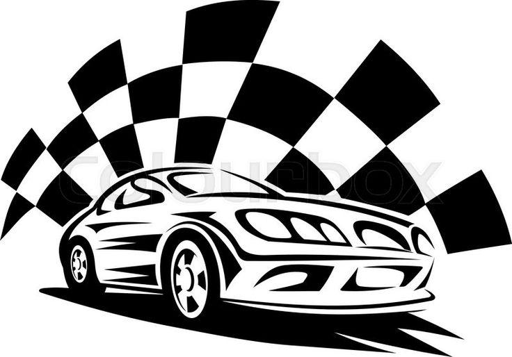 27 best race car art images on Pinterest   Lace, Racing ...