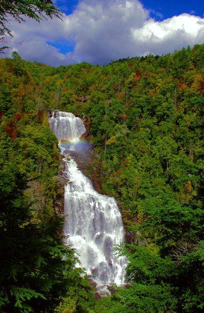 Upper Whitewater Falls, North Carolina's Highest Waterfall