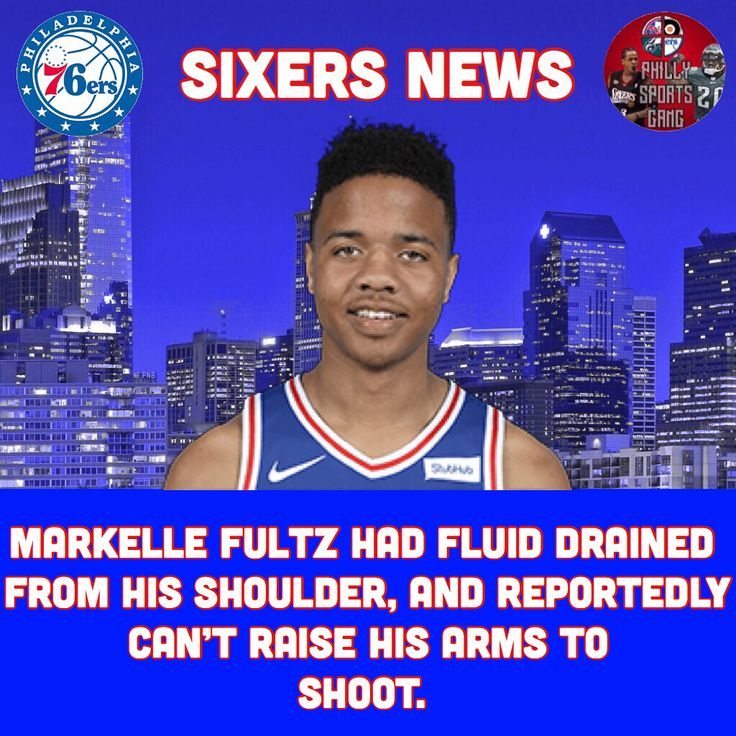 Some news from around the Philly sports world. 1. Hopefully this means Fultz will be 100% soon 2. Both injuries are huge losses for the Eagles pray for Hicks and Peters. -------------------------------- Tags- #Philly #PhillySports #Philadelphia  #76ers #Sixers #Eagles #Phillies #Flyers #TrustTheProcess #FlyEaglesFly #F2G #NBA #NFL #NBA2k #AllenIverson #JuliusErving #MosesMalone #WiltChamberlain #CharlesBarkley #JoelEmbiid #BenSimmons #MarkelleFultz #DarioSaric #RobertCovington #TJMcConnell…