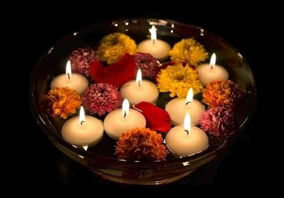 Candles Decoration Ideas Diwali Candles Diwali Decorations Diwali Decorations At Home