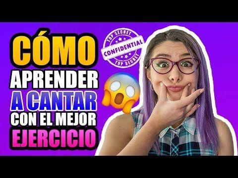 Cómo CANTAR BIEN con el MEJOR EJERCICIO | Clases de canto | Gret Rocha - YouTube