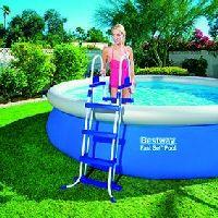 Bestway 58330 Ladder Zubehör für Pools  Leiter Blau Weiß     #BESTWAY #58330 #Pools  Hier klicken, um weiterzulesen.