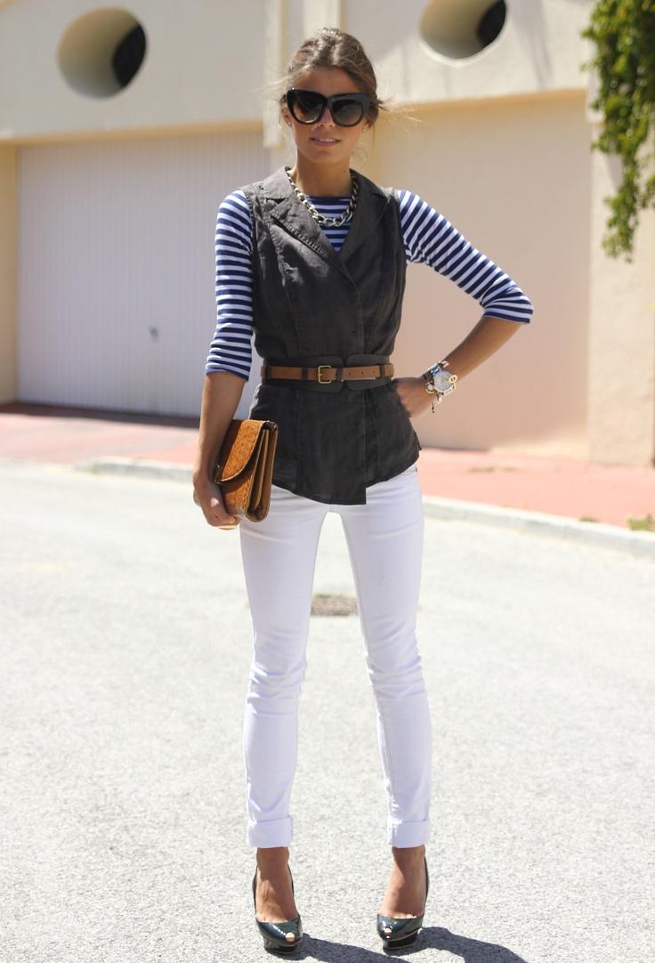 Zara Vests, Zara Heels / Wedges and Pull & Bear Jeans   My ...