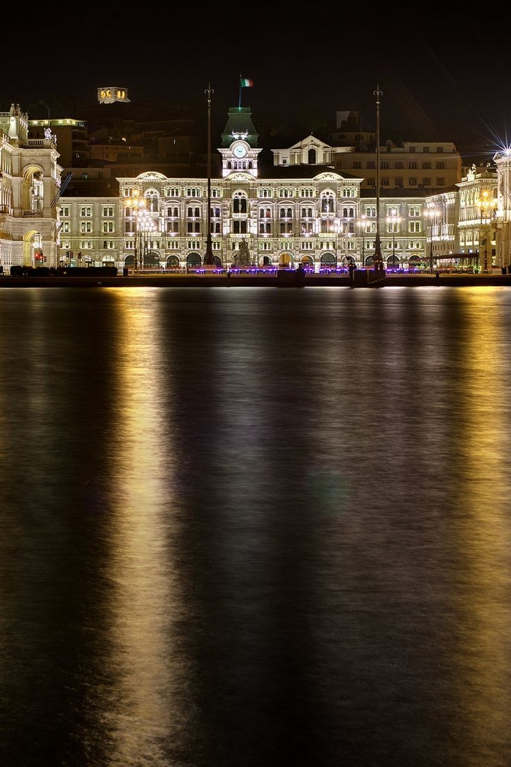 Piazza Unita Trieste, Italy