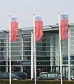 Screen Printed Car Dealership Custom Design Flags
