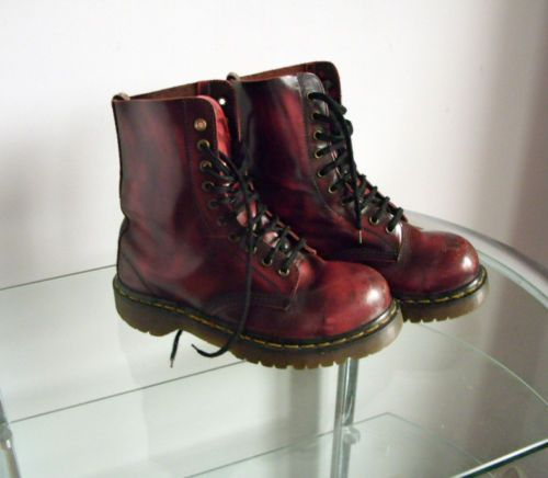 DR MARTENS STEEL TOE CAP BOOTS - OX BOOD