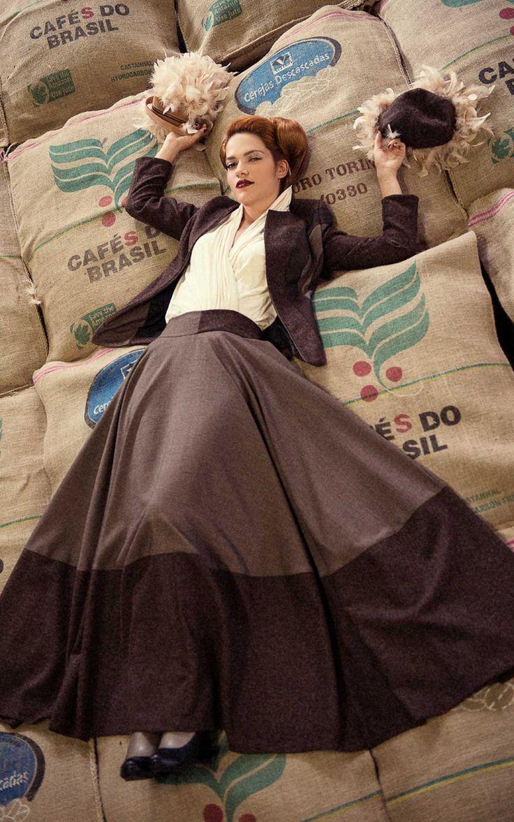 MAISON COLLEZIONE PRET A COUTURE A/I '14 -'15 - #moda #fashion #stile #style #model #fw14