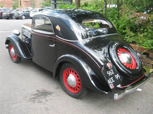 LR70 Rosengart (SuperSept) Grand Lux Coupe. 6CYL. (4 speed). 1938)