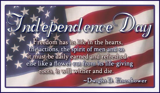 Inspirational USA 4th july quotes Motivation independence day sayings messages