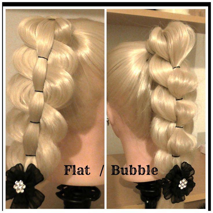 Pull Thru Bubble PonyTail / Hair Tutorial / HairGlamour