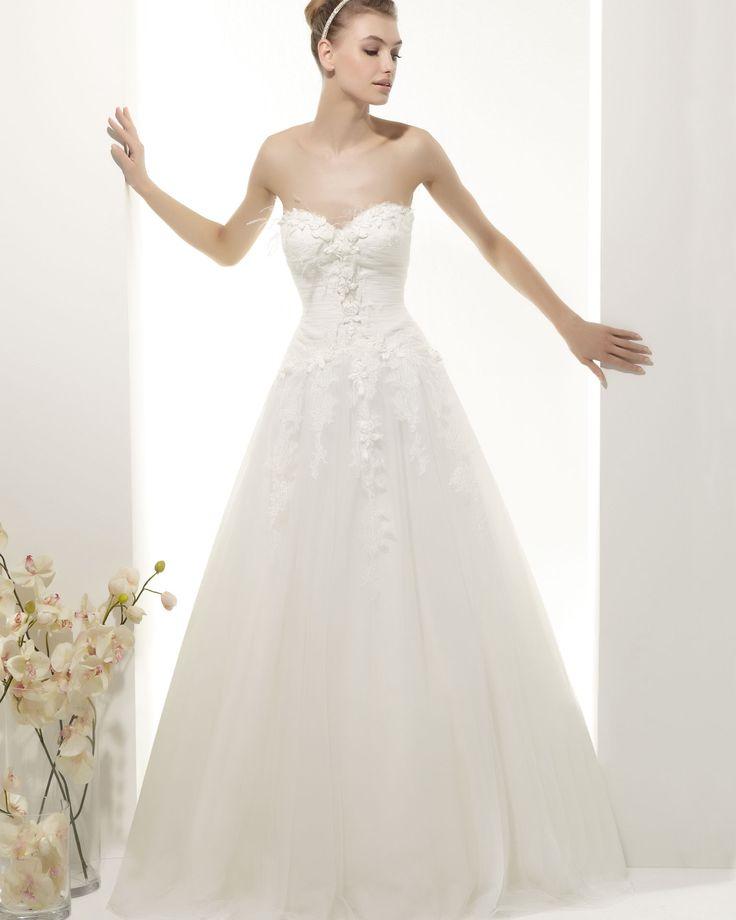 16 best Vestidos de Novia Low Cost images on Pinterest | Wedding ...
