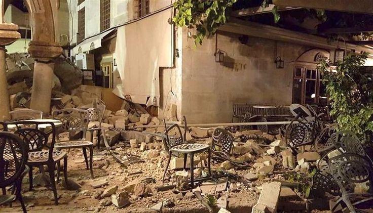 Un fuerte terremoto en Grecia y Turquía dejó al menos dos muertos y cientos de heridos: El temblor de 6,7º de magnitud en la escala abierta…