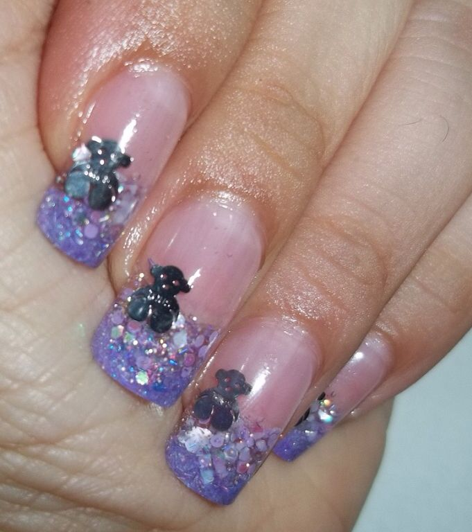 84 best French manicure nails with design images on Pinterest ...