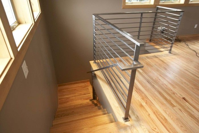 9 Best Images About Horizontal Railings On Pinterest