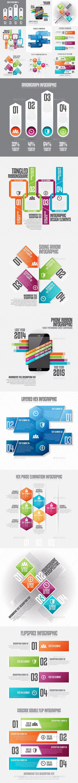 Infographic Set Template PSD, Vector EPS, AI #design Download: http://graphicriver.net/item/infographic-set-20/12999654?ref=ksioks