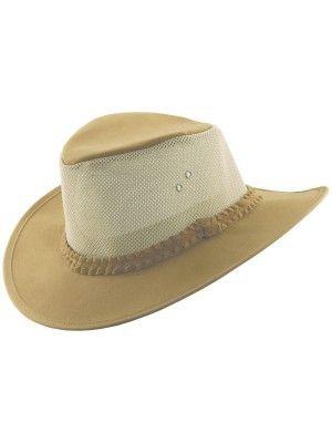 Dorfman Pacific Bush Soaker - Canvas Australian Hat