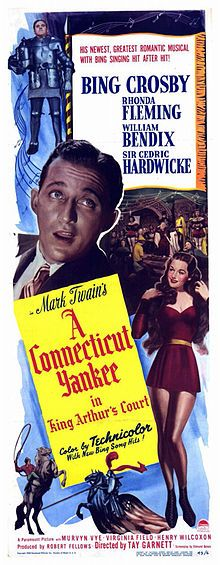A Connecticut Yankee in King Arthur's Court (1949) starring Bing Crosby and Rhonda Fleming