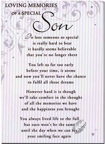 In Loving Memory Quotes for Son | Details about Grave Card / Christmas - Special Dad - FREE Holder-CM18
