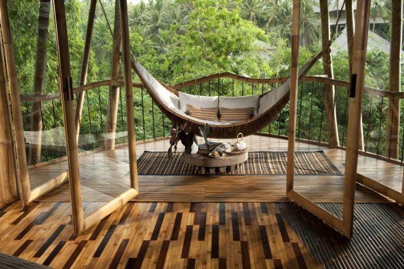 Casa del árbol de bambú - Noticias de Arquitectura - Buscador de Arquitectura