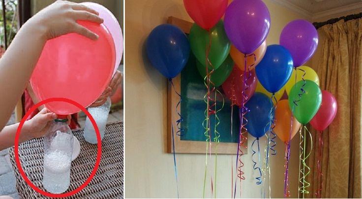 Saviez vousque l'hélium se faitde plus en plus rare ? En plus c'est pas très écologique ! Voici une solutionpour gonfler les ballons d'anniversa
