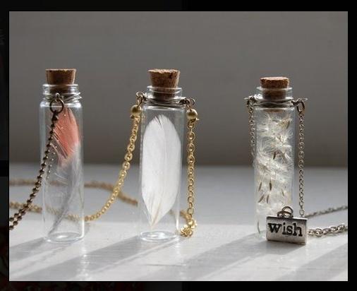 Glass Bottle Pendants 324 best bottle charms 3 images on pinterest bottle charms feathers in glass jar necklace audiocablefo
