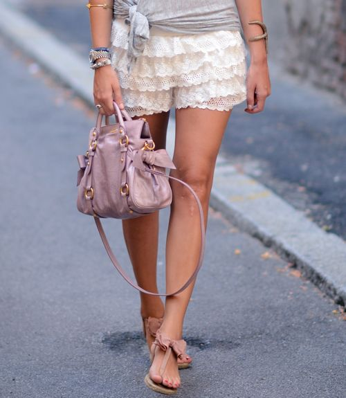 love the shoes and bag!