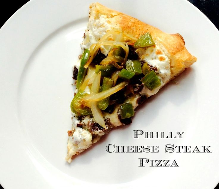 Your favorite sandwich turned into another favorite with this Philly cheese steak pizza recipe.