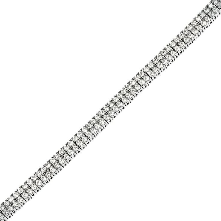 Bratara tenis din argint 925, cod TRSB022