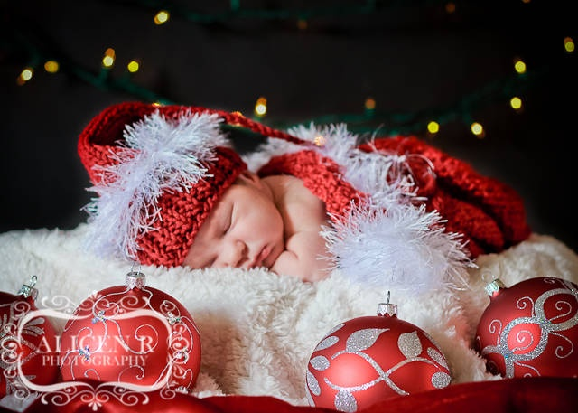 Newborn Christmas Idea 3 Newborn Photography By Alicen R