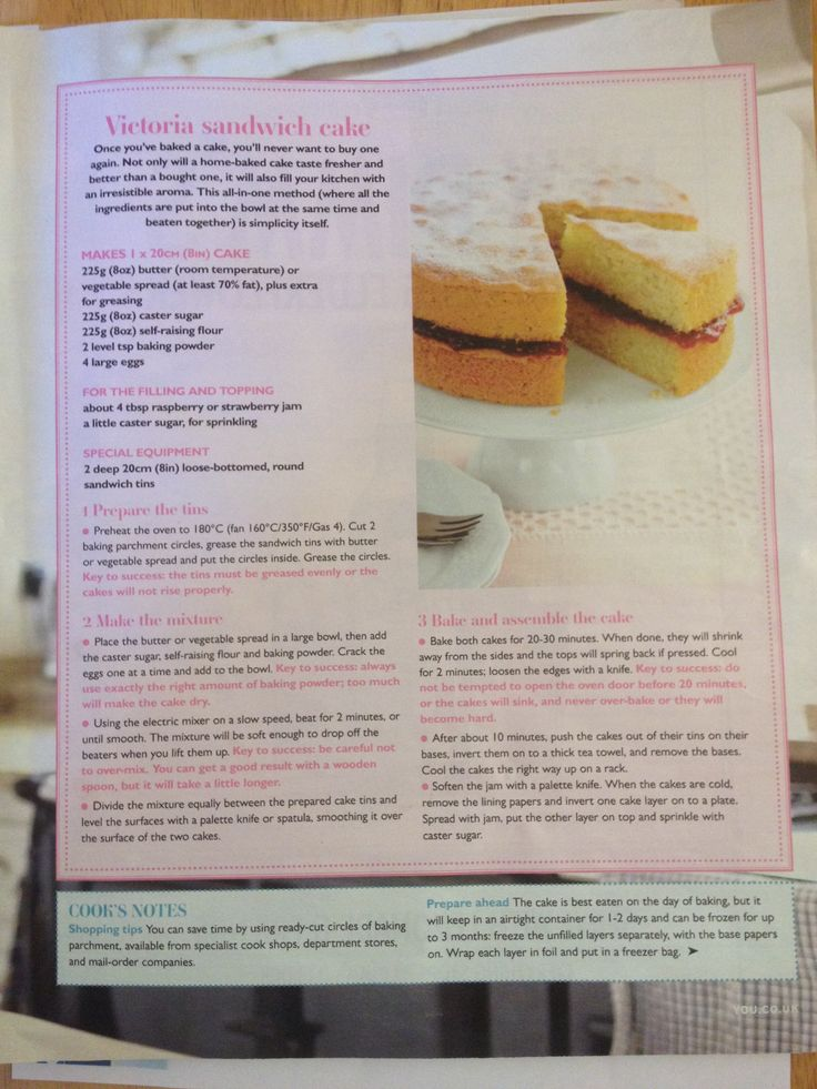 Victoria sponge recipe by Mary Berry