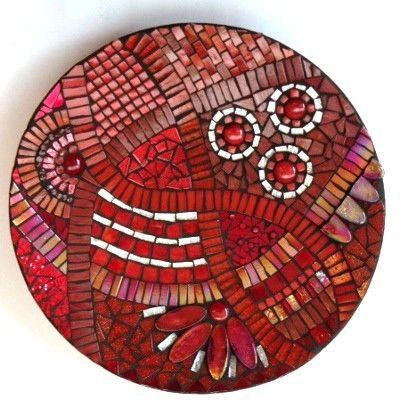 Mosaic Trader UK - Mosaico de arranque Prato com cortador de rodas: Red **