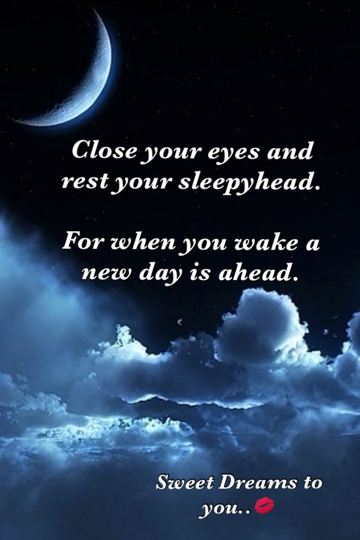 Sweet Dreams | Sweet dream quotes, Good night messages ...