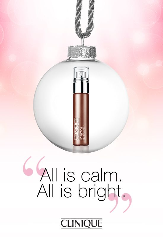 Sheer, lightweight liquid instantly illuminates skin. Highlights and contours cheeks, brow bones, or gives face an allover glow. #Clinique Up-lighting Liquid Illuminator. #Holiday #Gift #Beauty #Makeup
