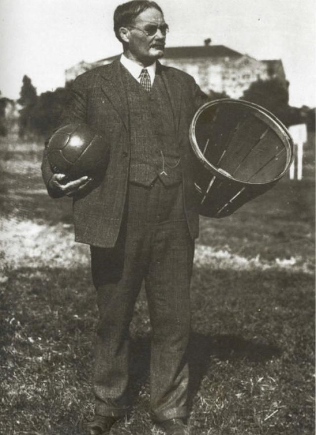 Learn more about James Naismith, the Canadian-born physical education instructor who invented basketball in 1891.