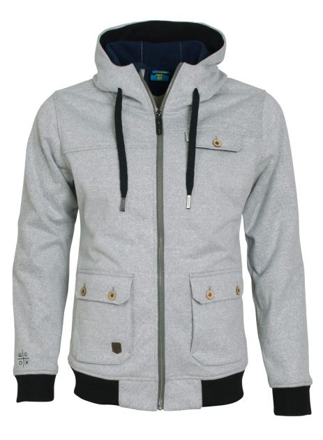Woolshell Men´s Jacket Grey