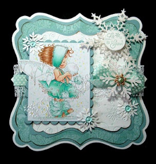 Oh my! Gorgeous card...