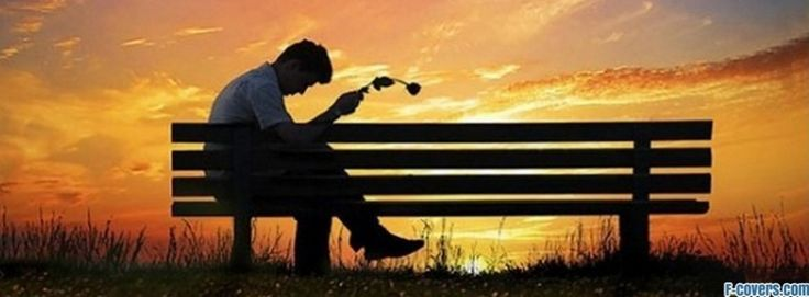 bench alone facebook cover