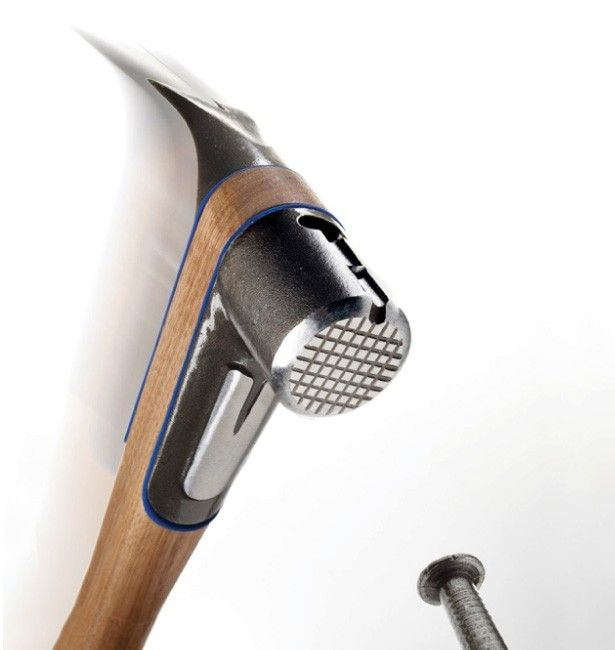 Five of the best: High-tech hammers By Loz Blain April 28, 2014 ATOMdesigns' S2 Framing Hammer