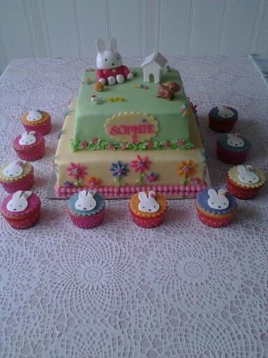 Nijntje /miffy cake
