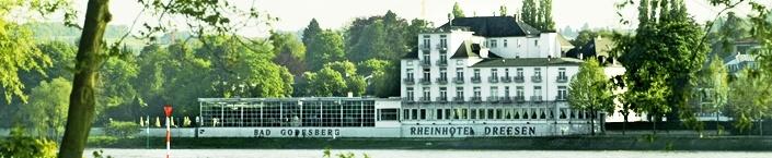 Rheinhotel Dreesen Bonn  Ob im Haus oder Open Air (dort bis zu 700 Gäste möglich), bei uns finden Sie  den passenden Rahmen für Ihre Feier oder Veranstaltung. Wir beheimaten sehr  viele Hochzeiten, richten Abiturienten Bälle aus, feiern Geburtstage und  Taufen. Jede Art von Feier und Veranstaltung begleiten wir professionell und  stehen Ihnen immer mit Rat und Tat zur Seite. Wir denken, dies ist  beruhigend zu wissen