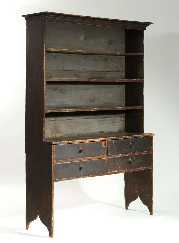 Exceptional century setback cupboard open top w