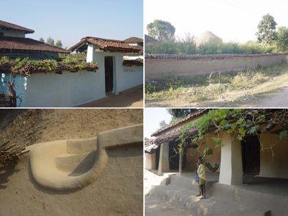 Local architecture, Kanha