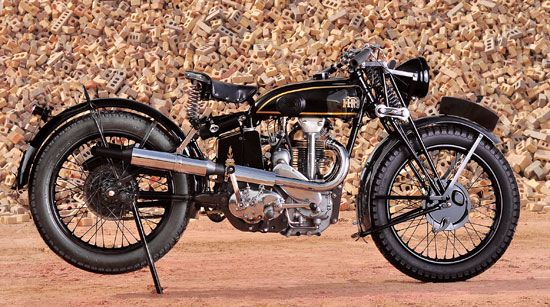 America's Oldest Vincent: 1932 Vincent HRD Python Sports 500 - Classic British Motorcycles - Motorcycle Classics