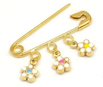 Piccolo Pin - DAISIES - 9ct Gold