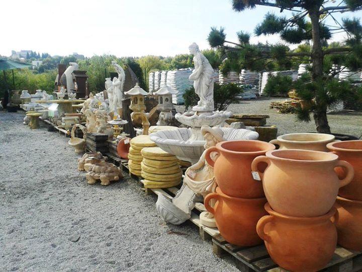 Záhradné centrum | Sadex, Kameninové dekorácie, keramické kvetináče, toskánska keramika, dekorácie do záhrady