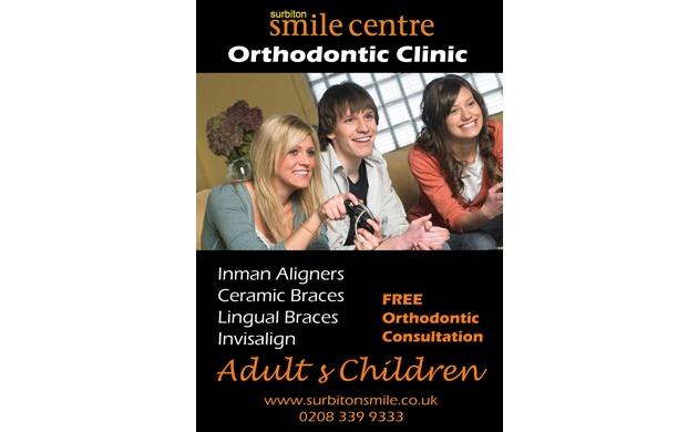 Poster Design for the Surbiton Smile Cenre