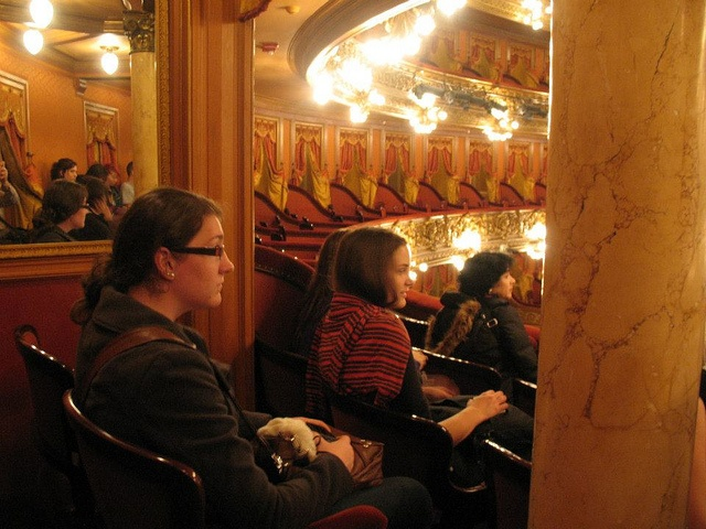 API Buenos Aires students visit the Teatro Colon, via Flickr.: